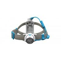 Đèn đeo trán Led Lenser NEO10R (600 lumen) (pin sạc) (xanh da trời)