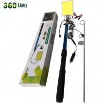 Đèn cắm trại cần câu 360Light (5m - 500w)
