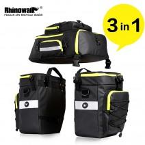 Bộ 3 túi touring Rhinowalk (đen - xanh lá)