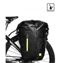 Túi touring chống nước RhinoWalk gắn sau (đen - xanh lá) (cặp)