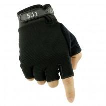 Găng tay hở ngón 5.11 (đen)