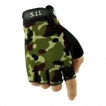 Găng tay hở ngón 5.11 (rằn ri)