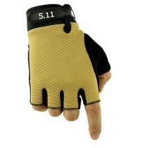 Găng tay hở ngón 5.11 (vàng cát sa mạc)