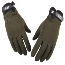 Găng tay dài ngón 5.11 (xanh lính)