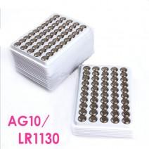 Pin nút AG10 (LR1130 / LR54 / 389 / 189 / L1131) (vỉ 50 viên)