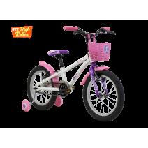Xe đạp trẻ em PIXIE 2018 (4 đến 6 tuổi) (trắng)