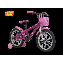 Xe đạp trẻ em PIXIE 2018 (4 đến 6 tuổi) (hồng)