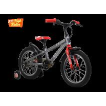 Xe đạp trẻ em RAIDER 2018 (4 đến 6 tuổi) (bạc)