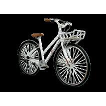 Xe đạp thành phố Catina (trắng)