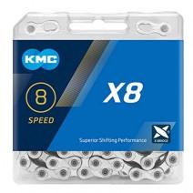 Sên KMC X8 SILVER (8 líp)