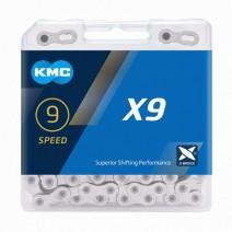 Sên KMC X9 SILVER (9 líp)