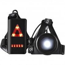 Đèn đeo ngực chạy bộ CROSSOVER A-01 (250 lumen) (pin sạc)