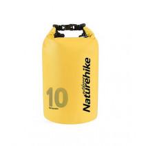 Drybag cao cấp NatureHike (10 lít) (vàng)