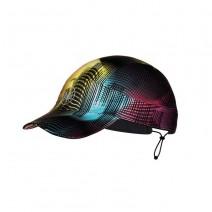 Mũ chạy bộ Buff Pack Run Cap (đen phối nhiều màu) (BUFF R-Grace Multi)