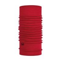 Khăn Buff Lightweight Merino Wool Neckwear (màu Solid Red) (BUFF 113010.425.10.00)
