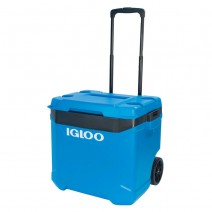 Thùng đựng đá Igloo Latitude 57L Roller (xanh đen)