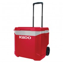 Thùng đựng đá Igloo Latitude 57L Roller (đỏ xám)