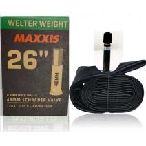 Ruột xe đạp Maxxis Welter Weight 26 x 1.50/2.5 (van Mỹ 48mm)