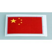 """Decal chống nước hình cờ China (kích thước 1,5"""" x 1"""")"""