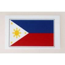 """Decal chống nước hình cờ Philippines (kích thước 1,5"""" x 1"""")"""
