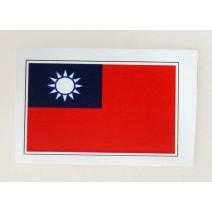"""Decal chống nước hình cờ Taiwan (kích thước 1,5"""" x 1"""")"""