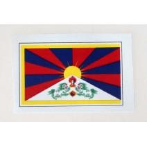 """Decal chống nước hình cờ Tibet (kích thước 1,5"""" x 1"""")"""