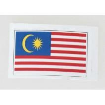 """Decal chống nước hình cờ Malaysia (kích thước 1,5"""" x 1"""")"""