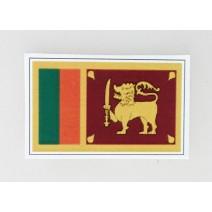 """Decal chống nước hình cờ Sri Lanka (kích thước 1,5"""" x 1"""")"""
