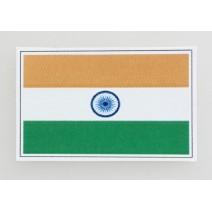 """Decal chống nước hình cờ India (kích thước 1,5"""" x 1"""")"""