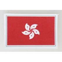 """Decal chống nước hình cờ Hong Kong (kích thước 1,5"""" x 1"""")"""