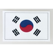 """Decal chống nước hình cờ Korea (kích thước 1,5"""" x 1"""")"""
