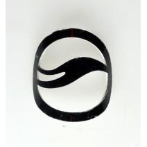 Logo nhôm nổi gắn sườn nhãn hiệu Giant (đen)