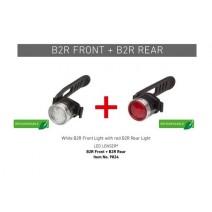 Combo đèn tín hiệu Led Lenser B2R DUAL (sạc USB)