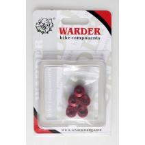 Ốc kiểu WARDER cho giò dĩa xe đạp WMS-04-RD (màu đỏ)