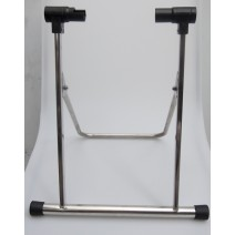Chân chống xe đạp chữ U inox