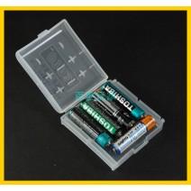 Hộp nhựa đựng pin AA