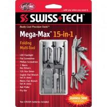 Dụng cụ đa năng SwissTech Mega-Max 15-in-1 Folding Multi-Tool