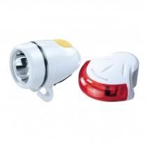 Bộ đèn Topeak HighLite Combo II (trắng) (TMS038)