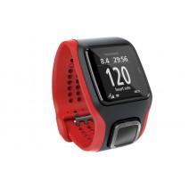 Đồng hồ GPS TomTom Multi Sport Cardio (đo nhịp tim - đo độ cao - cadence - speed sensor) (đỏ đen)