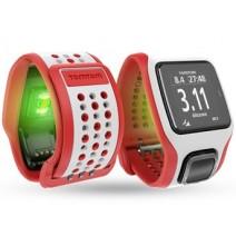 Đồng hồ GPS TomTom Multi Sport Cardio (đo nhịp tim) (đỏ trắng)