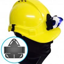 Pát gắn đèn LedLenser SEO lên nón bảo hiểm