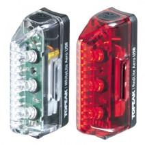 Combo đèn tín hiệu sạc Topeak Aero USB Combo TMS075