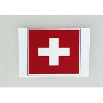 """Decal chống nước hình cờ Switzerland (kích thước 1,5"""" x 1"""")"""