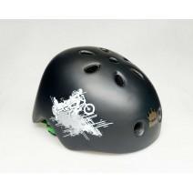Nón bảo hiểm BMX PRO (đen nhám)