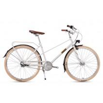 Xe đạp nguyên chiếc DARKROCK Virgin-18 (trắng)