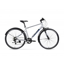 Xe đạp Đa Dụng JETT Strada Pro 700c 2017 (Size M, Size L) (Xám)