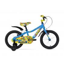 Xe đạp trẻ em RAIDER 2017 (4 đến 6 tuổi) (xanh dương - vàng)