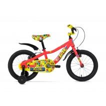 Xe đạp trẻ em RAIDER 2017 (4 đến 6 tuổi) (đỏ - vàng)