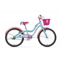 Xe đạp trẻ em CANDY (6 đến 10 tuổi) (xanh ngọc) (không nhún) (1 dĩa - 1 líp)