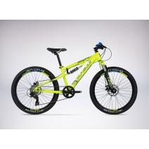 Xe đạp trẻ em VIPER DS (trên 10 tuổi) (vàng chanh) (2 nhún) (1 dĩa - 7 líp)